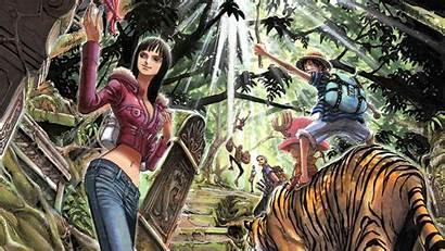 Piece Anime Wallpapers Desktop Forest Exploration Wallpapertip