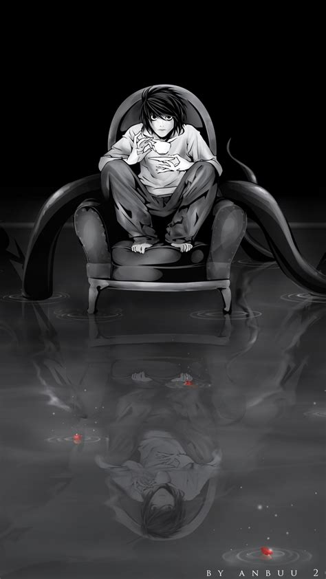 L Death Note Iphone Wallpaper  Wwwimgkidcom  The Image