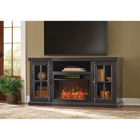 manor place   tv stand  bluetooth electric