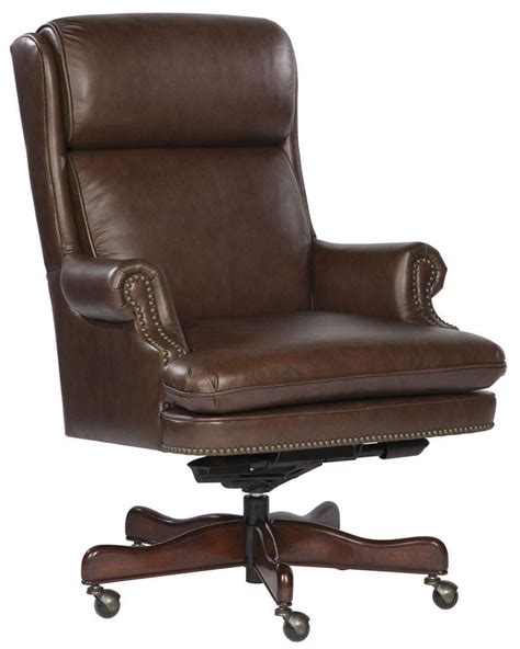 leather swivel desk chair antique office furniture for deciding work room ambience