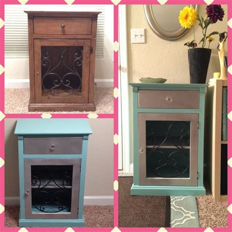 craigslist end table makeover garbage to gorgeous