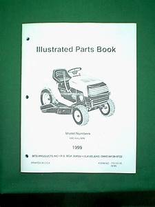 Mtd Yard Machine Tractor Series 690 Thru 699 Parts Manual