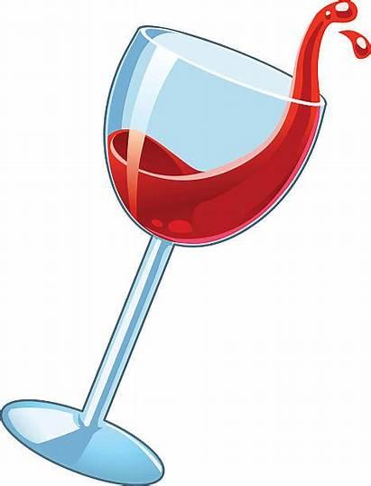 Wine Vector Spilled Spilling Wineglass Clip Illustrations