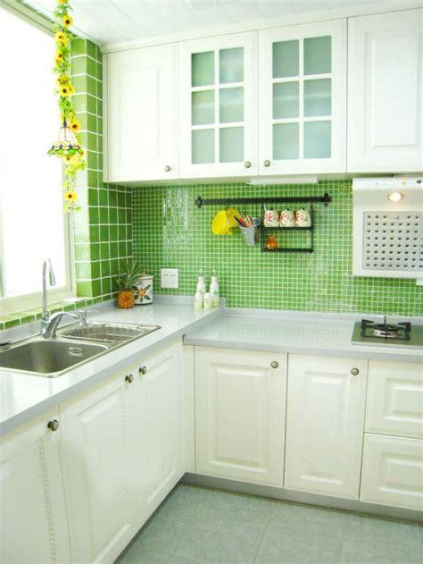 cuisine verte cuisine verte pour un intérieur naturel et doux