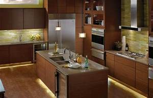 Lighting for kitchen photography : Kitchen under cabinet lighting options countertop