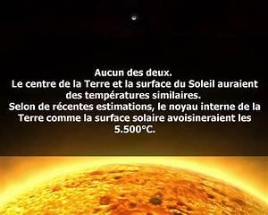 Surface De La Terre : quel est le plus chaud la surface du soleil ou le centre ~ Dailycaller-alerts.com Idées de Décoration