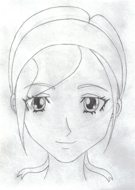 Anime Wallpaper Easy To Draw by Simple Anime By Countribabe On Deviantart
