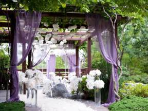 outside wedding decorations purple outside garden wedding decorationwedwebtalks wedwebtalks