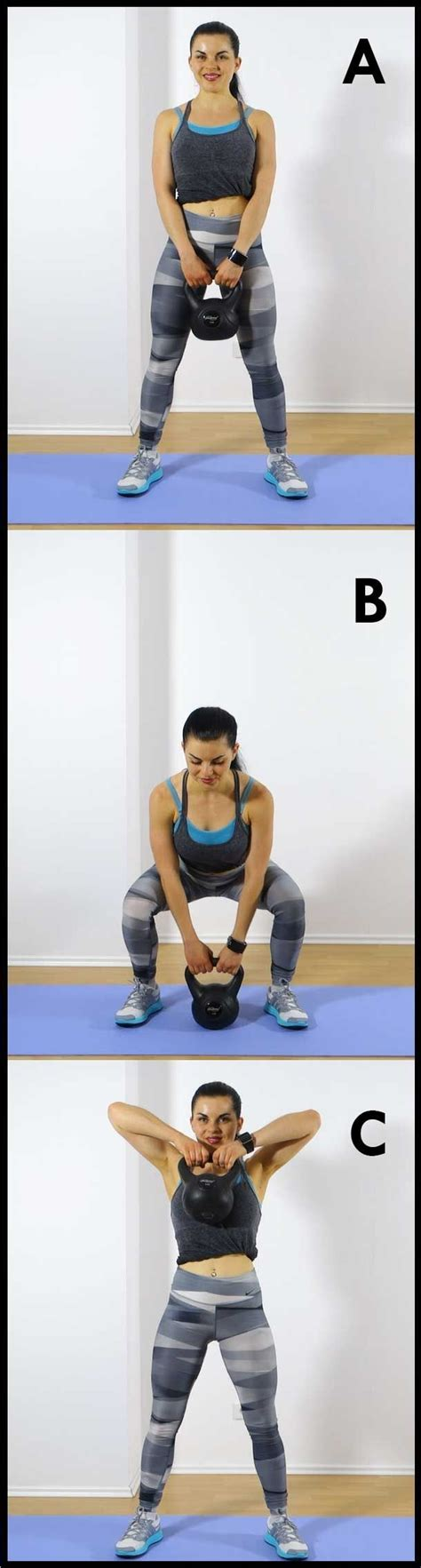 kettlebell exercises minute toned routine exercise compound workouts workout