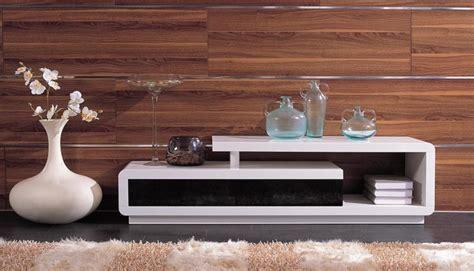 modern white  black lacquer tv unit modern