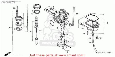 Honda Carb Diagram Cleaning by Honda Xr80r Carb Adjustment Best Cars Modified Dur A Flex
