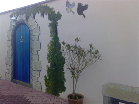 fresque sur mur ext 233 rieur