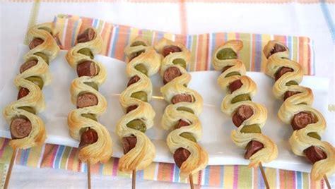 Shishqebap me sfoliat dhe salçiçe Hako - Pjata kryesore