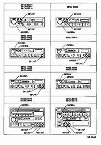 Toyota Camry Knob  Radio Receiver Switch  Electrical - 8612820220