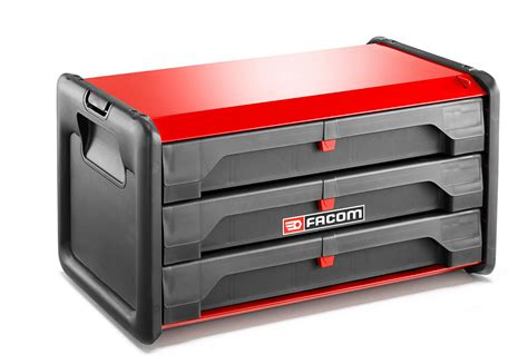 Facom BT.203 Bi-Material 3 Drawer Tool Box | PrimeTools