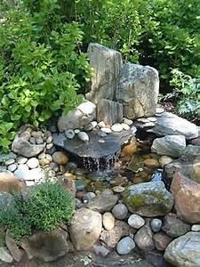 Fontaine A Eau Exterieur : cascade et fontaine de jardin 69 d co pour les moments ~ Dailycaller-alerts.com Idées de Décoration