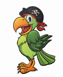 Pirate Parrot Prop Town & Country Event Rentals