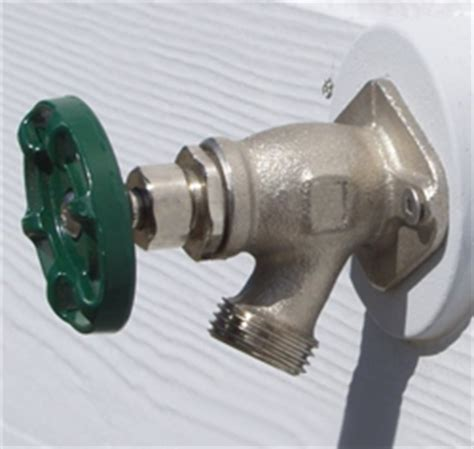leaking outdoor faucet in winter hose bibbs len the plumber