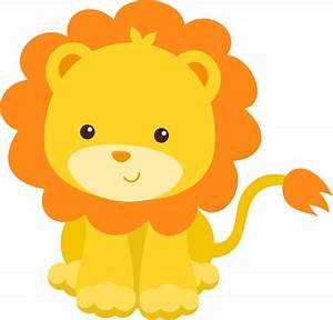 Vector Baby Lion Clipart - The Cliparts
