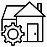 Construction Icon Workhouse Building Icons Transparent Vectorified