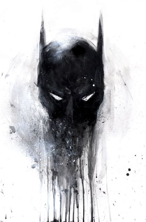 badass melting batman mask tattoo tattoos pinterest sleeve batman mask  nice
