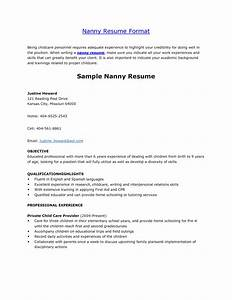 perfect tips write nanny resume sample With nanny resume builder