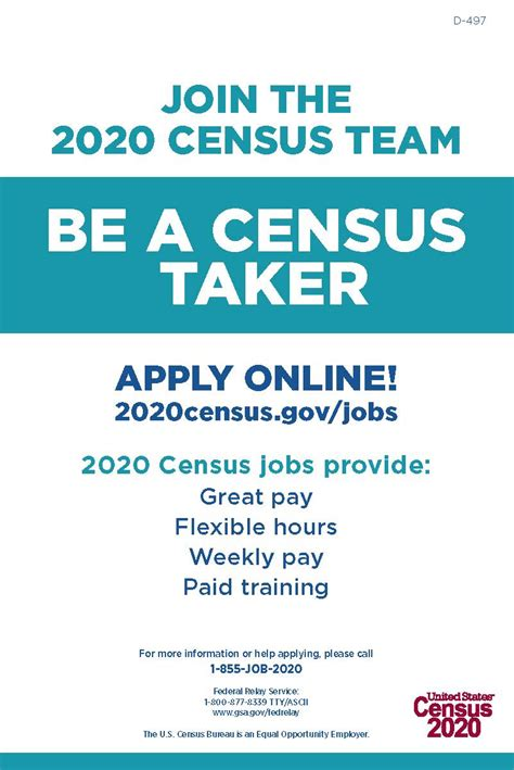 census hiring ministry public witness