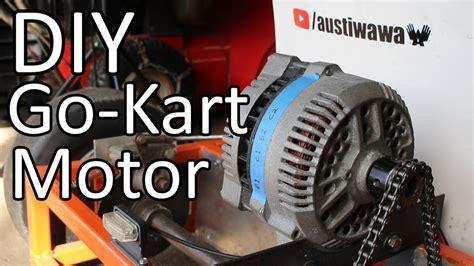 converting  car alternator    kart motor clipzuicom
