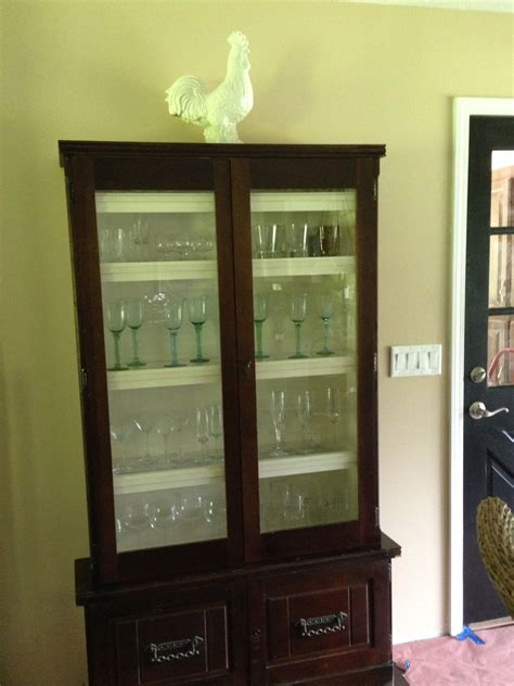 wine glass cabinet refurbished gun cabinet into wine glass cabinet 50 at a