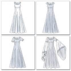 patron robe de mariã e robe médiévale bleu et orange aux manches de géant les idées fixes de céline