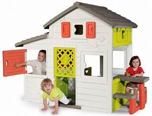 Cabane Enfant Plastique : smoby maison enfant friends house achat vente maisonnette ext rieure cdiscount ~ Preciouscoupons.com Idées de Décoration