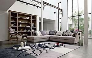 le salon roche bobois un conte de fee moderne With tapis de couloir avec canape le corbusier lc5
