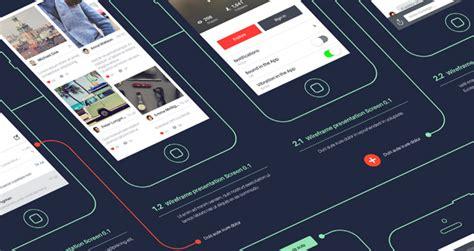 psd wireframe app showcase mockup psd mock  templates