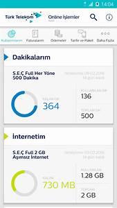 Telekom Mobil Rechnung Online : t rk telekom online lemler mobil ndir android i in ~ Themetempest.com Abrechnung