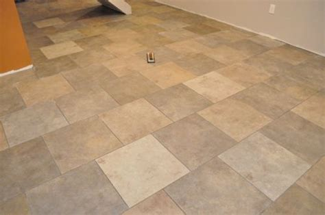 tile flooring no grout how to grout a tile floor one project closer