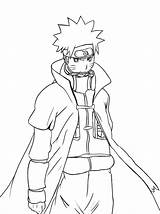Naruto Coloring Pages Shippuden Print sketch template
