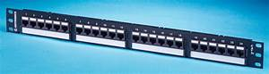 24 Port Techchoice Patch Panel  Cat6  Or