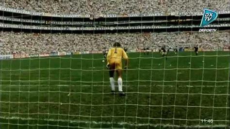 gol de jorge burruchaga mundial  argentina