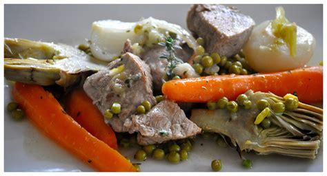 cuisine veau sauté de veau aux légumes printaniers la cuisine d
