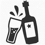Icon Bar Pub Alcohol Drinker Icons Heavy