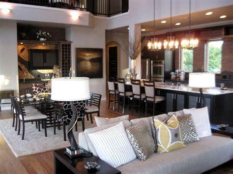 open concept kitchen  living room paint ideas