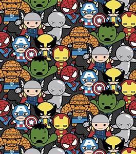 Marvel Kawaii Cotton Fabric Jo-Ann