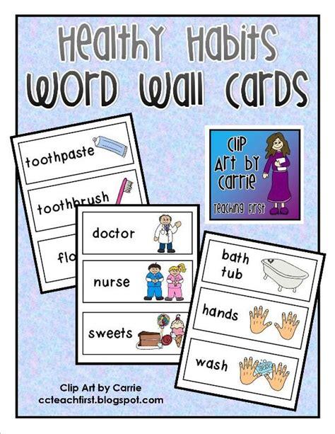clip by carrie teaching healthy habits word 841 | ef53ecb0481b0d797608749ae311e75e healthy habits preschool body preschool