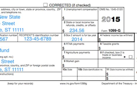 Michigan Form 1099 G by Understanding Your Tax Forms 2016 1099 G Certain