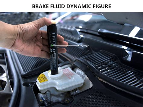 Electronic Led Brake Fluid Tester  Test Brake Fluid