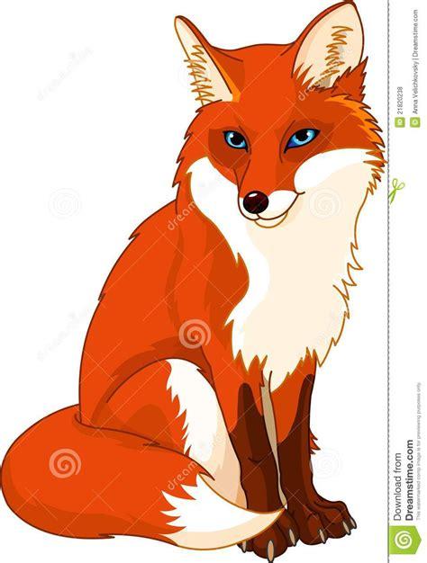 dessin de renard facile renard mignon illustration de vecteur illustration du renard 21820238 tout renard dessin