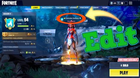 change  fortnite username  ps pc  xbox