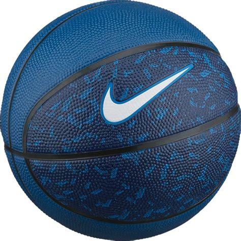 nike swoosh mini basketball bb  niebieska