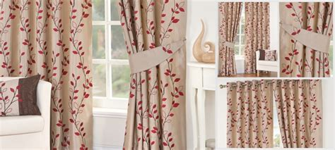buy red osaka lined eyelet curtain collection