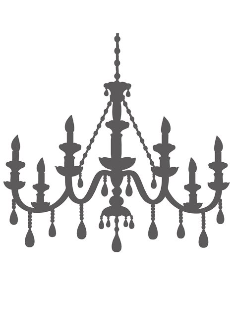 Chandelier Stencils by Chandelier Template For Lola S Dresser Crafts